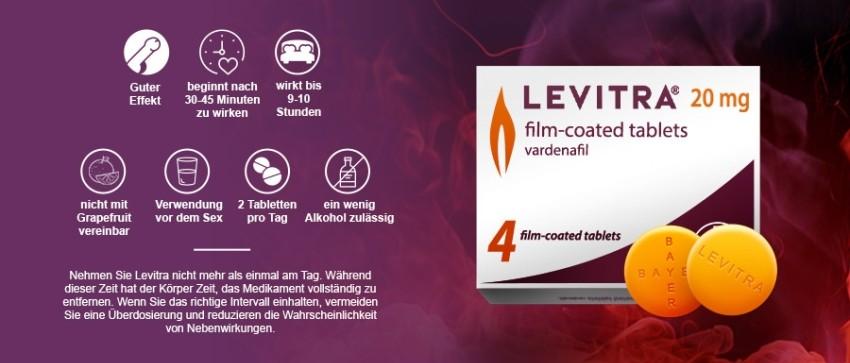 Levitra Einnahme - aber richtig