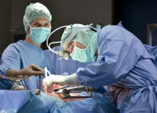 Operation der Prostata