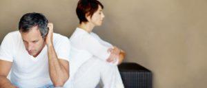 Erektionsstörungen führen zu Problemen in der Partnerschaft