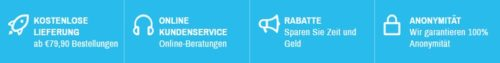 Vorteile unserer Online Apotheke